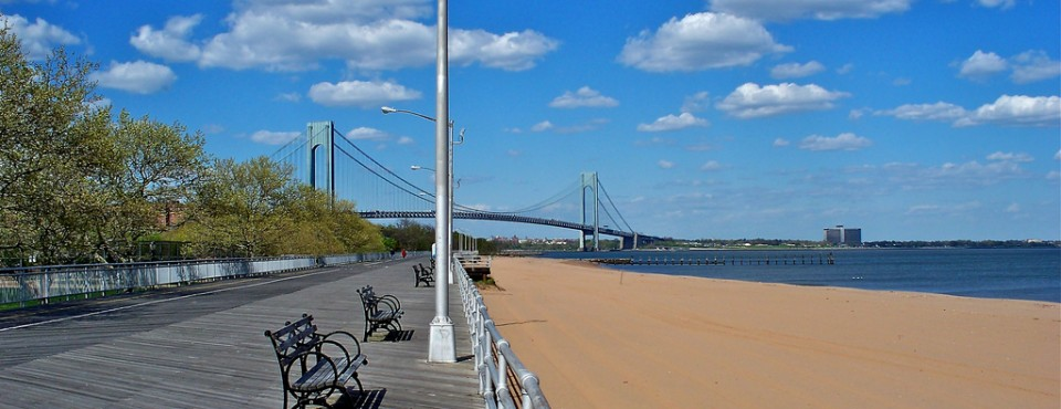 Find Staten Island Real Estate, Boardwalk In South Beach Located In The North Eastern Section Of Staten Island.