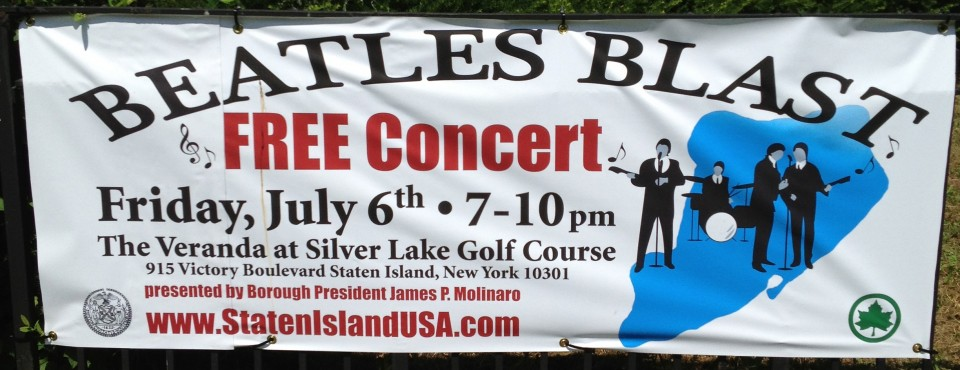 Beatles Blast Free Concert In Silver Lake Park On Staten Island's North Shore.