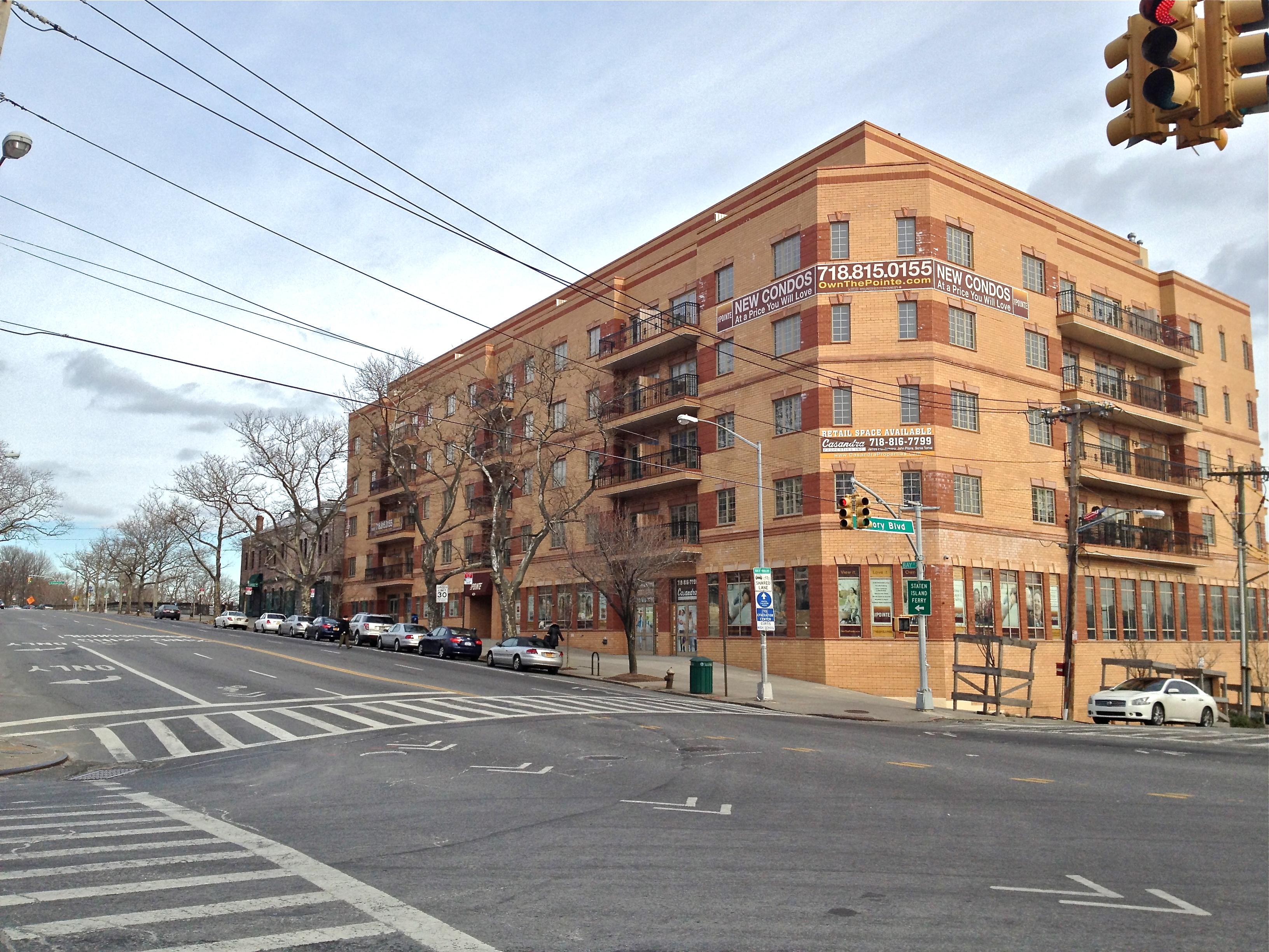 Bay Street Staten Island Development