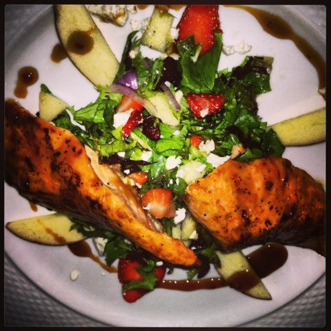 Blue Restaurant Dish, Snug Harbor Staten Island