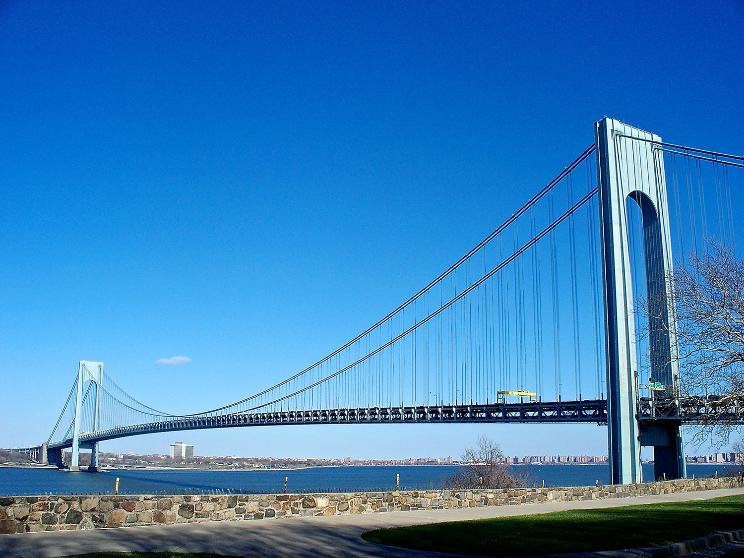 The Verrazano Bridge