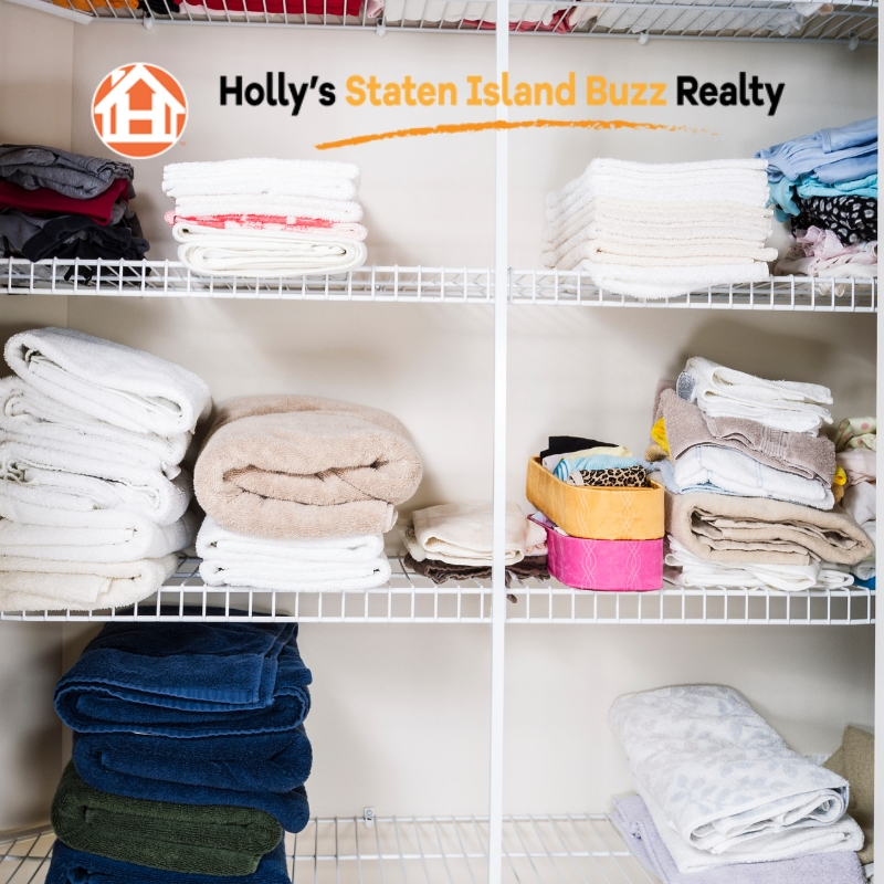 Home Organizing Tips from Holly's Staten Island Buzz Realty