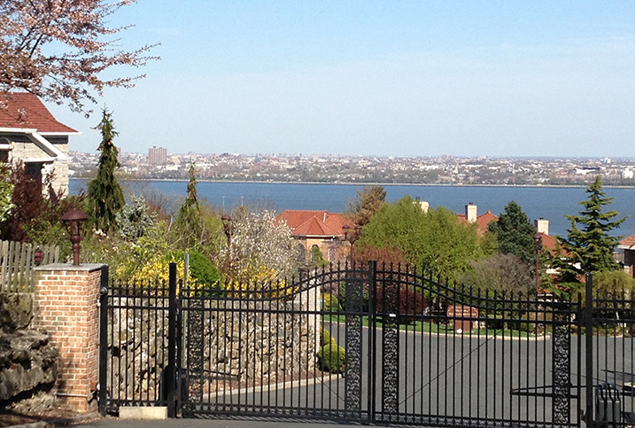 View From Grymes Hill on Staten Island