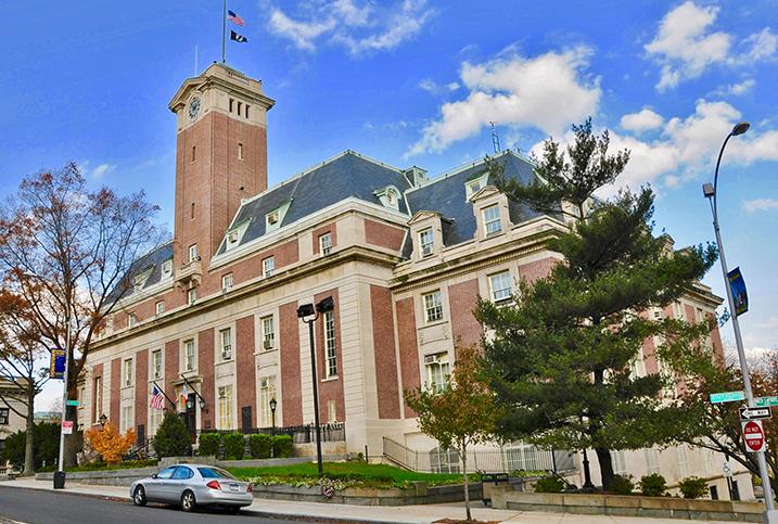 Borough Hall in St. George Staten Island