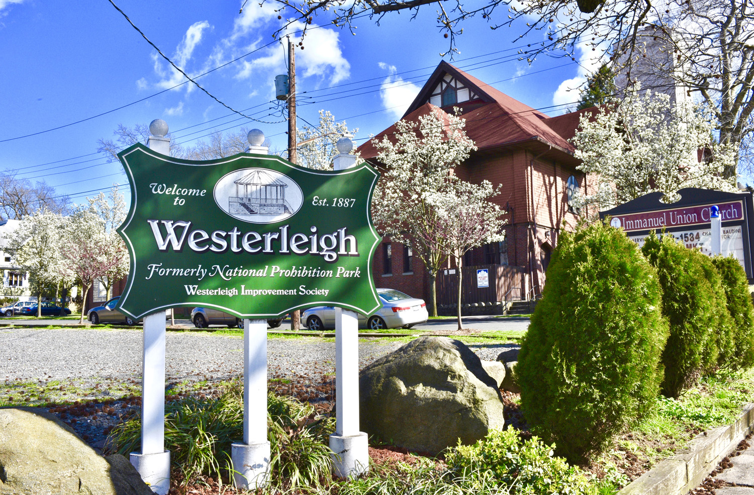 Westerleigh Sign in Staten Island NY