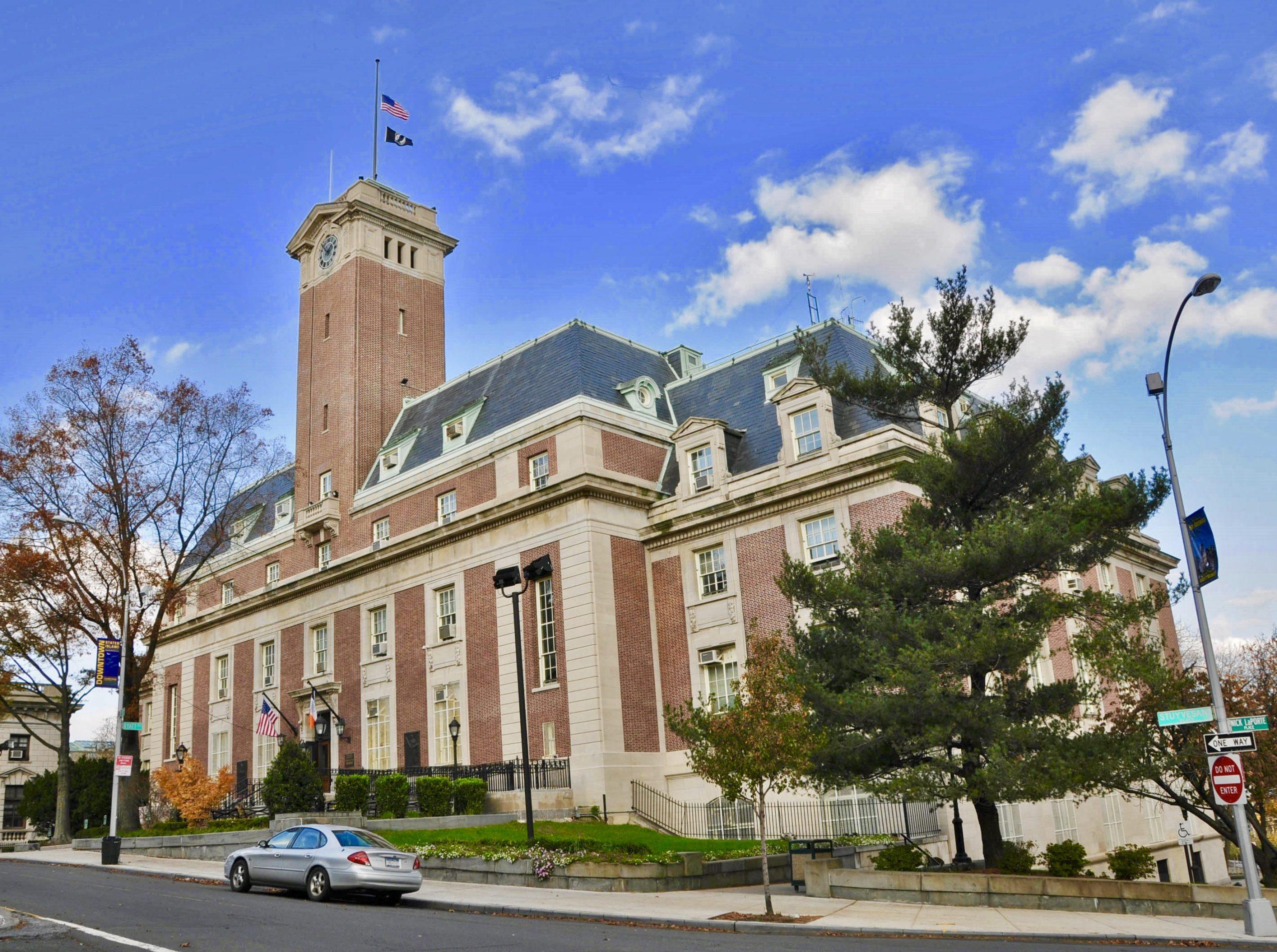 Staten Island Boro Hall in St. George