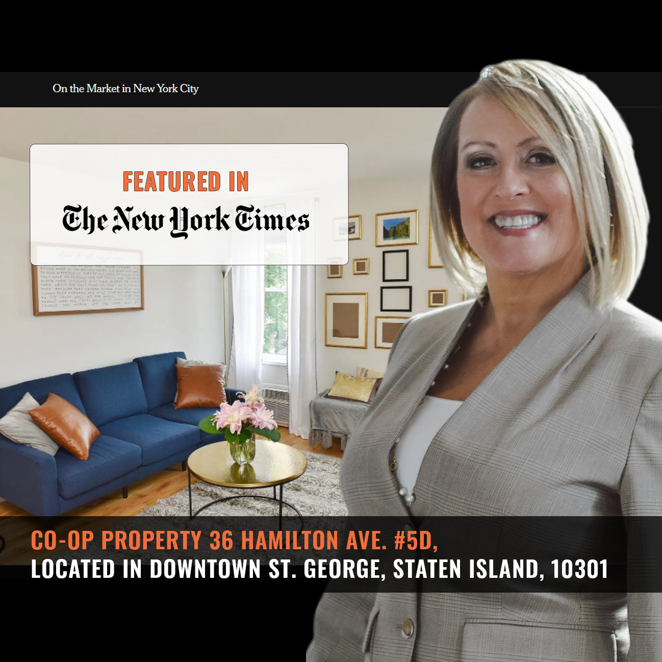 Screenshot of this property from NYT Website